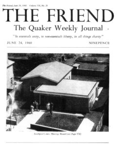 Southport Meeting House, featured in a 1960 edition of The Friend Magazine