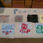 Elainer's peace banner