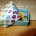 Patterned Paper Box